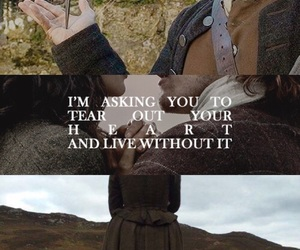 quote, scotland, and outlander image