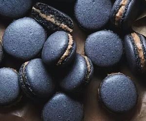 food, black, and dessert image