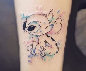 tattoo, stitch, and disney image