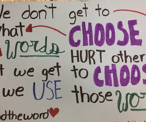 poster, quotes, and bullying image