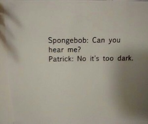 spongebob, patrick, and funny image