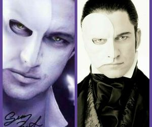 phantom, Collage, and gerald butler image