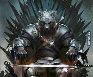 game of thrones, robb stark, and stark image