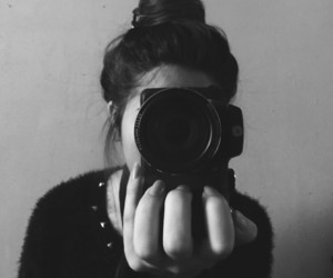 aesthetic, b&w, and fotos image