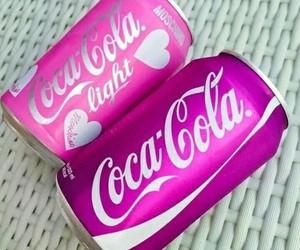 coca cola, drinks, and food image