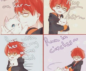 707, seven, and mystic messenger image