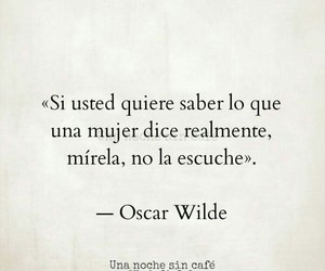 oscar wilde, quotes, and woman image
