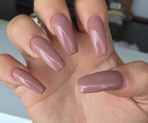 beige, colors, and nails image