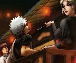 anime, kagura, and gintoki image