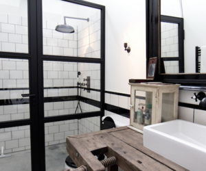 bathroom, interior, and small image