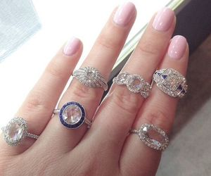 fashion, nice, and rings image