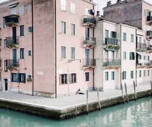 building, travel, and venice image