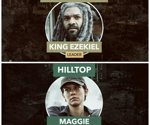 leader, the walking dead, and king ezekiel image