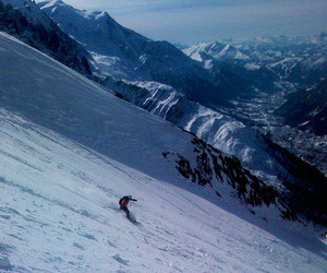 Alps, mountain, and Skiing image