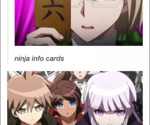 meme, naruto, and danganronpa image