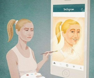 instagram, art, and life image