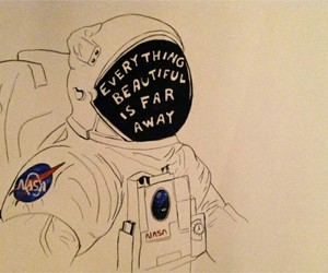 quotes, space, and nasa image