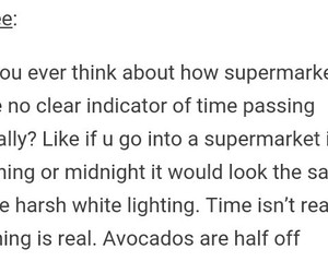 avocado, funny, and supermarket image