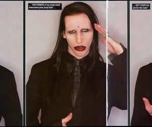 90s, Antichrist Superstar, and bands image