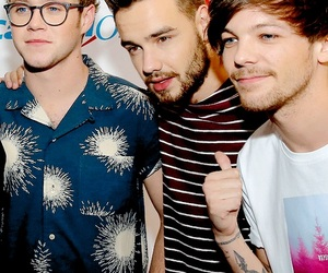 louis tomlinson, 1d, and liam payne image