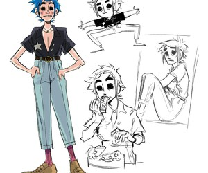 2d, anime, and art image
