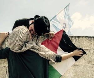 love, peace, and israel image