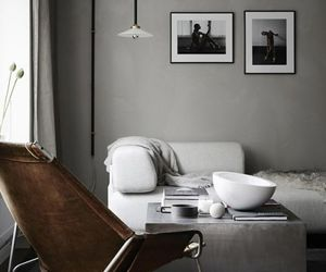 home, design, and grey image