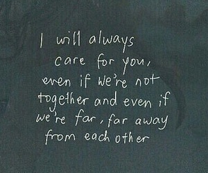 love, quotes, and care image