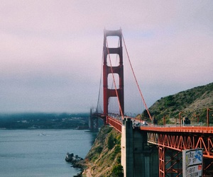 eeuu, golden gate, and landscape image