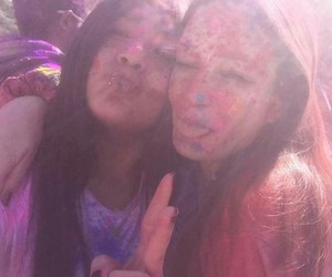colours, bestfriends, and holifestival image