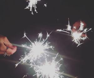 fireworks, girls, and grunge image