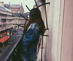 france, grungy, and paris image