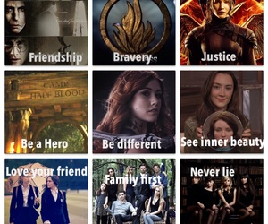 harry potter, fandoms, and hunger games image