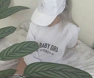 white, palid, and babygirl image
