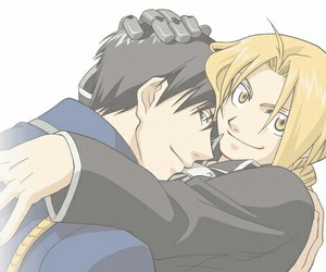 edward elric, roy mustang, and yaoi image