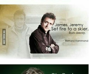 top gear, richard hammond, and james may image