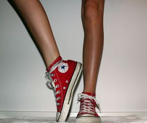 all stars, shoes, and converse image