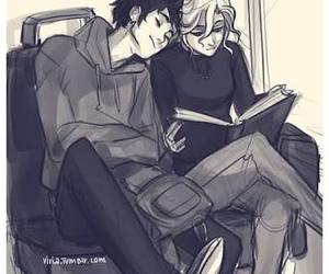 love, book, and percabeth image