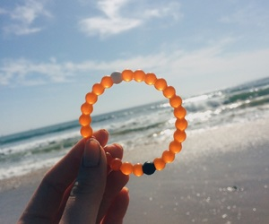 beach, bracelet, and ocean image