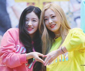 k-pop, siyeon, and eunwoo image