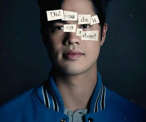 13 reasons why, netflix, and zach image