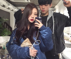 couple, asian, and boy image