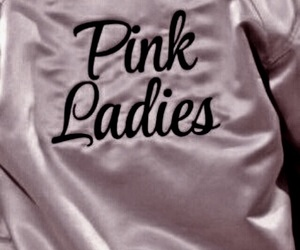 pink, grease, and pink ladies image