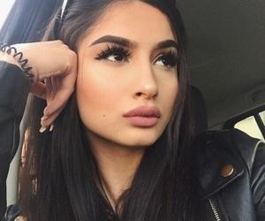 black, eyebrows, and glow image