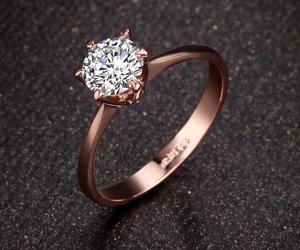 diamond, jewellery, and ring image