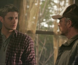 bobby, dean, and supernatural image