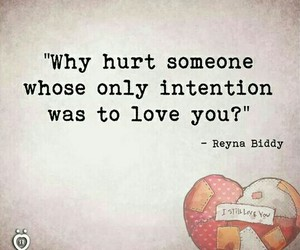 hurt, quotes, and why image