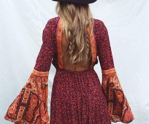 boho, fashion, and dress image