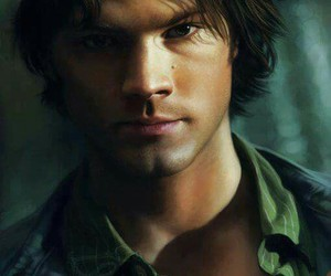 sam winchester and supernatural fanart spn image