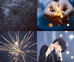 aesthetic, fireworks, and wallpaper image